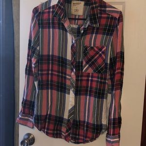 Light weight long sleeve flannel